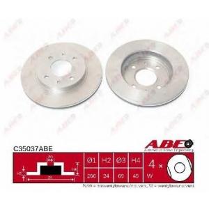 ABE C35037ABE Тормозной диск Митсубиси Галант