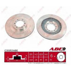 ABE C35052ABE Гальмівний диск
