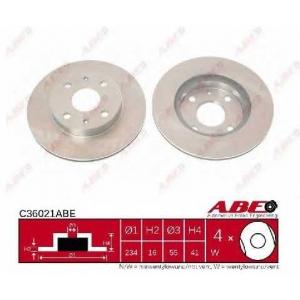ABE C36021ABE Тормозной диск Дайхатсу Сирион