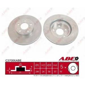 ABE C37006ABE Гальмівний диск