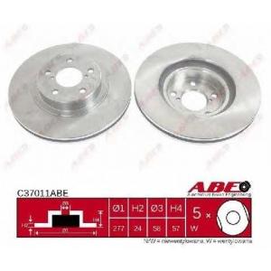 ABE C37011ABE Гальмівний диск