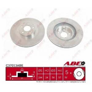 ABE C37013ABE Гальмівний диск