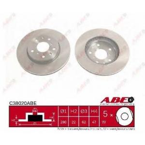 ABE C38020ABE Тормозной диск Фиат Седики