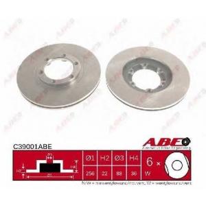 ABE C39001ABE Тормозной диск Исузу Трупер