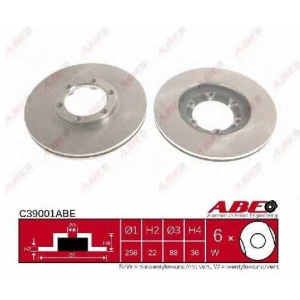 ABE C39001ABE Тормозной диск Опель Фронтера