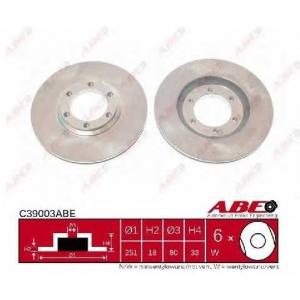 ABE C39003ABE Тормозной диск Исузу Миди