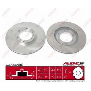 ABE C39006ABE Тормозной диск Исузу Мидиан