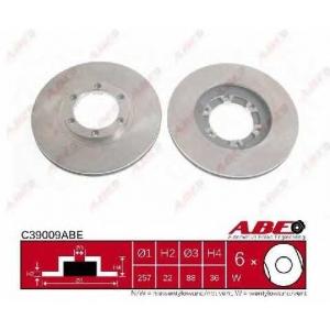 ABE C39009ABE Тормозной диск Исузу Трупер