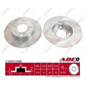 ABE C3A001ABE Тормозной диск Ауди 90