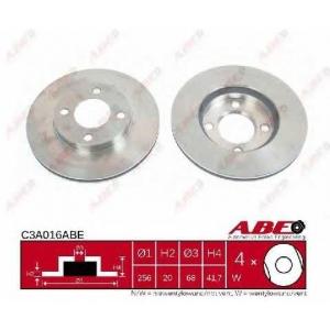 ABE C3A016ABE Тормозной диск Ауди Купе
