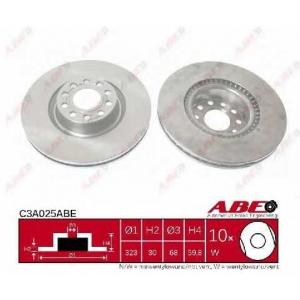 ABE C3A025ABE Гальмівний диск
