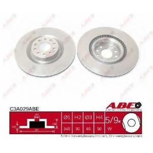 ABE C3A029ABE Тормозной диск Ауди А3