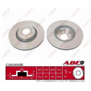 ABE C3A030ABE Тормозной диск Ауди А6 Олроад