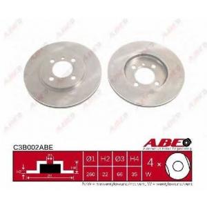 ABE C3B002ABE Тормозной диск Бмв З1