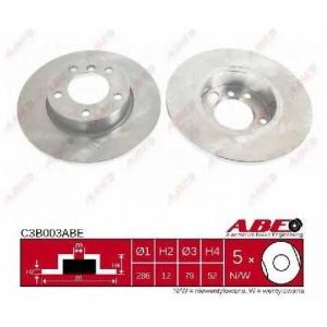ABE C3B003ABE Тормозной диск Бмв З3