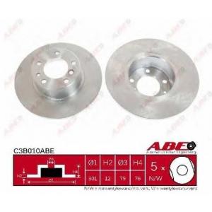 ABE C3B010ABE Гальмівний диск