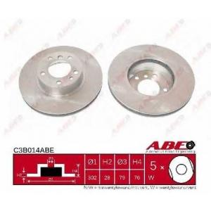 ABE C3B014ABE Тормозной диск Бмв 7