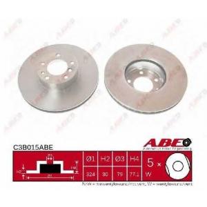 ABE C3B015ABE Тормозной диск Бмв 7