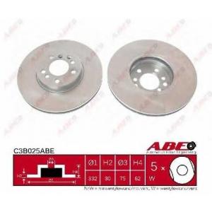 ABE C3B025ABE Тормозной диск Бмв Х5