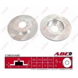 ABE C3B026ABE Тормозной диск Бмв З4
