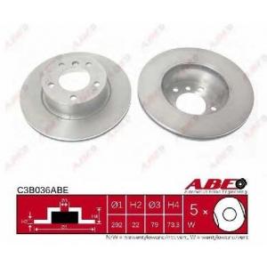 ABE C3B036ABE Гальмівний диск