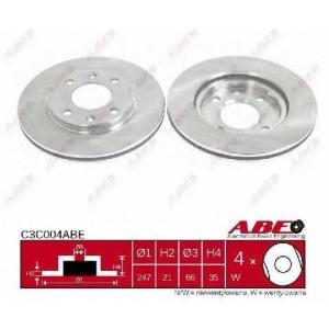 ABE C3C004ABE Тормозной диск Ситроен Зх
