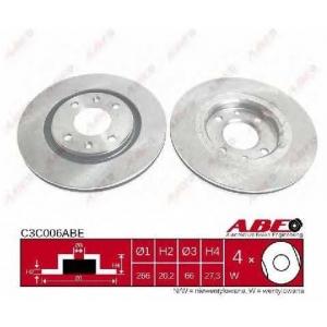 ABE C3C006ABE Тормозной диск Ситроен Ксантия