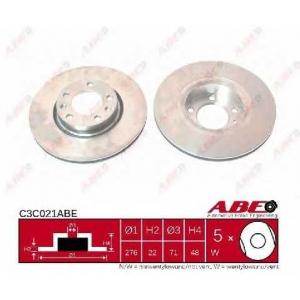 ABE C3C021ABE Тормозной диск Ситроен Хм
