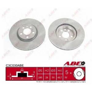 ABE C3C030ABE Гальмівний диск