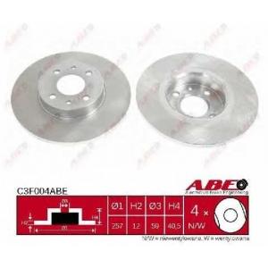 ABE C3F004ABE Тормозной диск Лансия