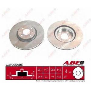 ABE C3F005ABE Гальмівний диск