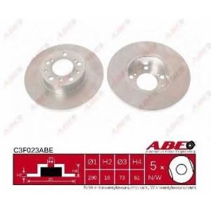 ABE C3F023ABE Тормозной диск