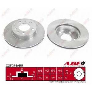 ABE C3F024ABE Тормозной диск Фиат Дукато