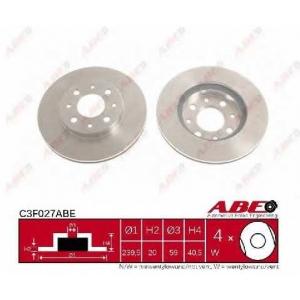 ABE C3F027ABE Тормозной диск Фиат 500
