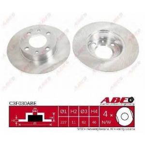 ABE C3F030ABE Тормозной диск Фиат Фиорино