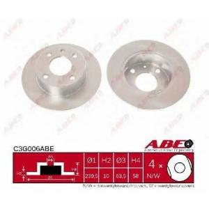 ABE C3G006ABE Гальмівний диск
