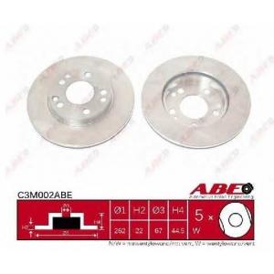 ABE C3M002ABE Тормозной диск Мерседес 190