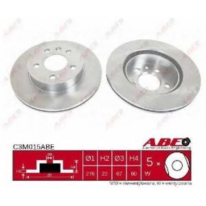 Тормозной диск c3m015abe abe - MERCEDES-BENZ VITO автобус (638) автобус 108 D 2.3 (638.164)