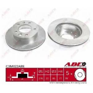 ABE C3M022ABE Гальмівний диск