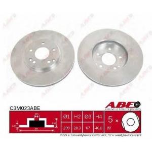 ABE C3M023ABE Тормозной диск Мерседес Цлц-Класс