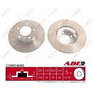 ABE C3M024ABE Тормозной диск Мерседес Джи-Класс