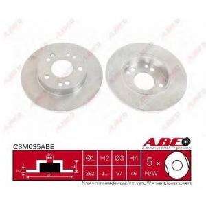 ABE C3M035ABE Гальмівний диск