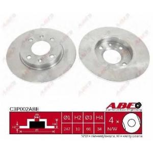 ABE C3P002ABE Тормозной диск Ситроен Зх