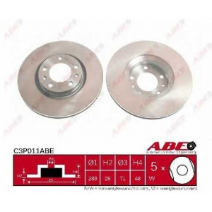 ABE C3P011ABE Тормозной диск Ситроен Хм