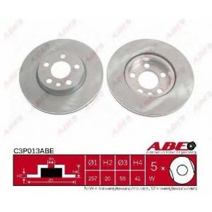 ABE C3P013ABE Тормозной диск Фиат