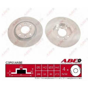 ABE C3P014ABE Тормозной диск Ситроен С3 Плюриель