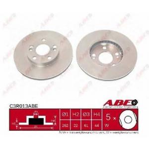 ABE C3R013ABE Тормозной диск Рено Сафране
