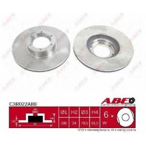 ABE C3R022ABE Тормозной диск Опель Мовано
