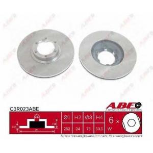 ABE C3R023ABE Тормозной диск Рено Трафик