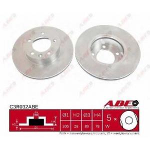 Тормозной диск c3r032abe abe - RENAULT MASTER II фургон (FD) фургон 2.8 dTI